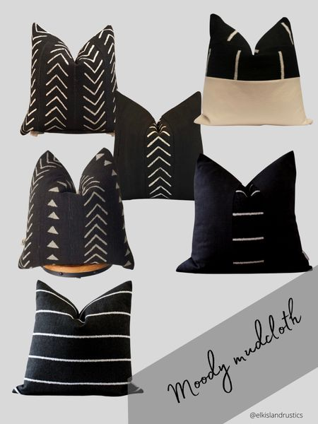 Add a little touch of moody to any room with these gorgeous pillows    #LTKunder100 #LTKhome