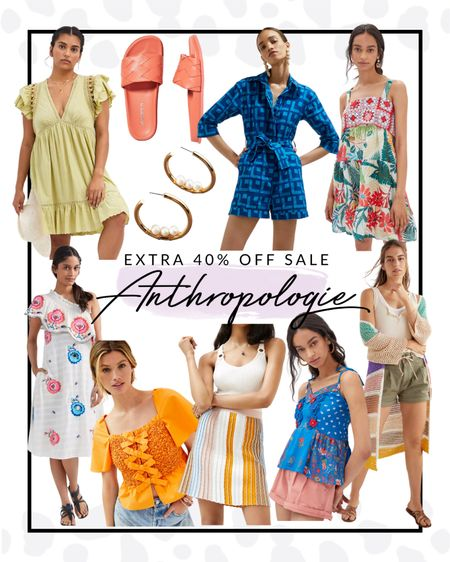 Anthropologie is having a MAJOR sale right now! You can get an extra 40% off already reduced items. These fashion pieces are stunning and every closet needs them.   #LTKsalealert #LTKfit #LTKcurves