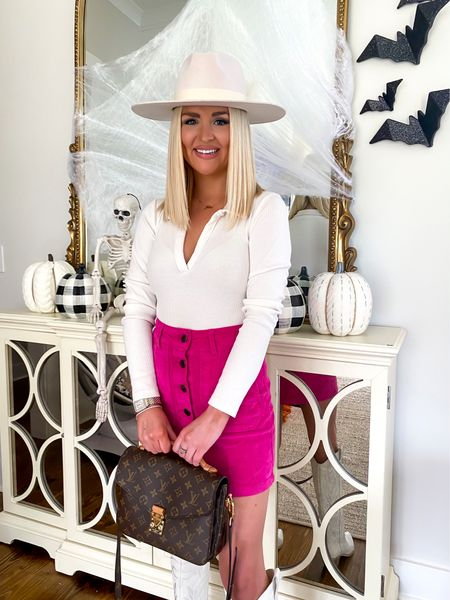 Halloween decor, Fall home decor, pink corduroy skirt (size: 0), Target style, Target finds   #LTKunder50