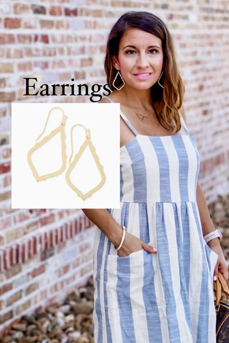 LTK Early Gifting Sale starts today!! This is an app exclusive sale. Here is one of my favorite pair Kendra Scott statement earrings. They are gold and come in a few other colors.   #LTKHoliday #LTKSale #LTKunder50