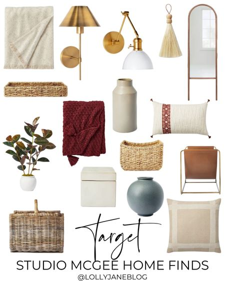 Target Studio McGee home finds!  Lilly Jane Blog | #LollyJaneBlog #LTKunder100 #LTKunder50 #LTKhome @liketoknow.it #liketkit http://liketk.it/3k6Xa