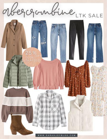 Abercrombie sale! Lots of cute fall outfits.   #LTKSeasonal #LTKsalealert #LTKSale