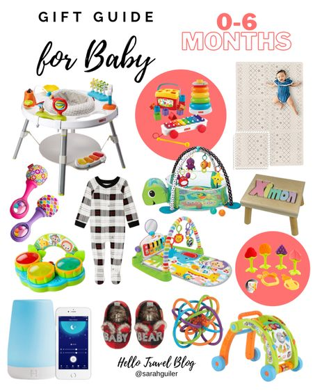 Baby gift guide. Christmas gifts. Holiday gift guide. Gifts for baby. 0-6 months old. Baby toys. Baby playmat. Activity mat. Baby pajamas. activity center. Baby slippers. Baby Christmas. @liketoknow.it @liketoknow.it.family http://liketk.it/30OrE #liketkit #LTKbaby #LTKfamily #LTKsalealert