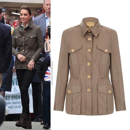Kate wearing Troy London jacket #lightweight #hoodie #zipup #walk   #LTKstyletip