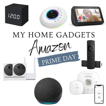 Prime Day, gadgets, tech products, Amazon, garage opener, white noise, clock   #LTKsalealert #LTKhome #LTKunder100