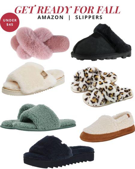 Get ready for fall - Amazon slippers   #LTKunder50 #LTKshoecrush #LTKstyletip