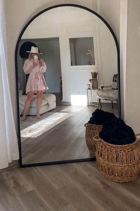 arch floor length mirror 🖤 size: XL   #LTKhome