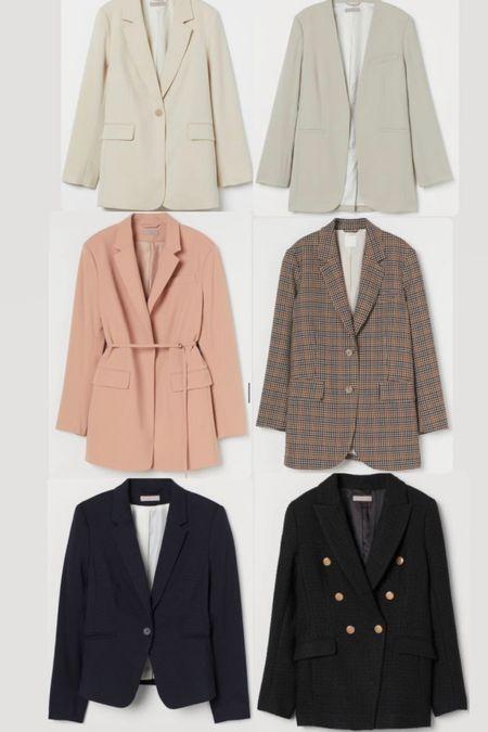 H&M Labor Day Sale everything 20% off all under $50. Women's blazers fall favorites   #LTKunder50 #LTKSeasonal #LTKsalealert