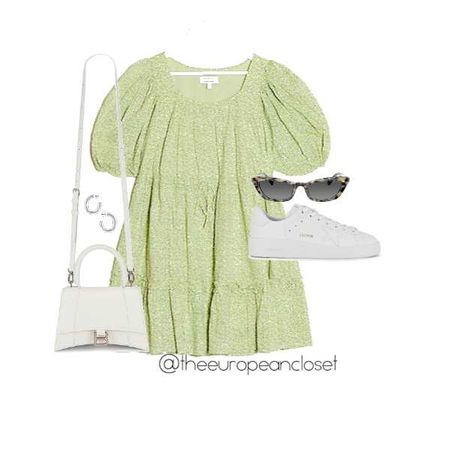 How to style green for summer