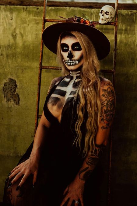 Spooky SZN is upon us💀🎃😈👻🧟♀️I've linked the best products to recreate this look. Practice now, in time for Halloween🤪  #LTKSeasonal #LTKaustralia #LTKbeauty