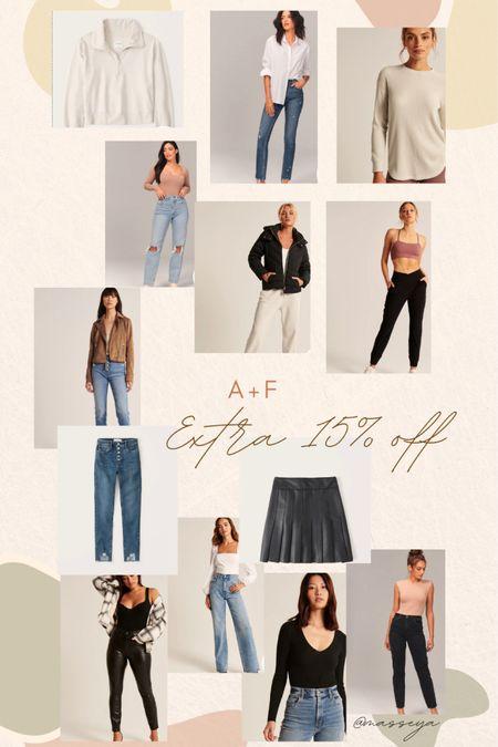 A+F sale! Extra 15% off most styles.  #LTKstyletip #LTKunder100 #LTKsalealert