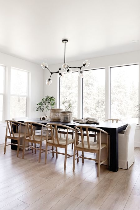Happy Monday! Here are the links to my dining chairs! I also links my favorite spring room sprays that are #under10! http://liketk.it/3dUuj #liketkit @liketoknow.it  #diningchairs #diningroom #diningnook #modern chairs #bohohome