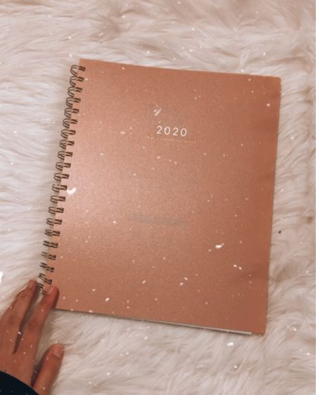 My new 2020 boss babe planner! This is perfect for anyone who needs to get their shit together with work, school, or blogging! It includes stickers, a boss babe vision board, a goals section and other amazing features🥰💫 The one I have in pink is sold out but i've linked the exact same one in blue and also a pink one in a smaller size and cover but the insides the same! #LTKholidaygiftguide #LTKholidaystyle #LTKunder50 #liketkit @liketoknow.it http://liketk.it/2HynV