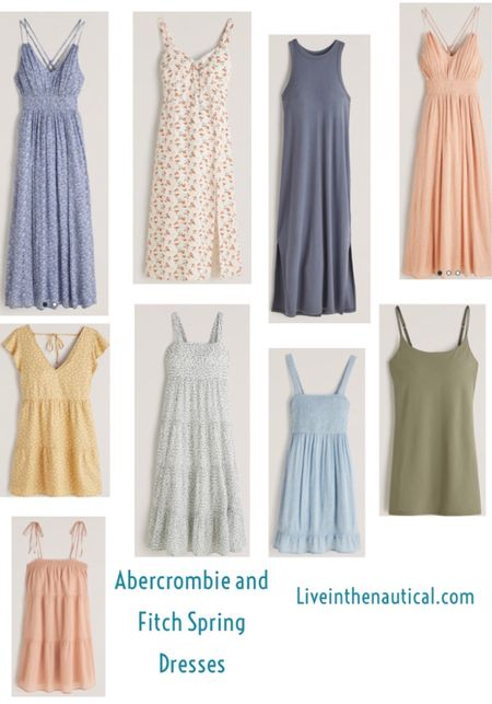 Love a good dress and Abercrombie and fitch has so many great ones this spring!   #dressseason #abercrombieandfitch  #LTKsalealert #LTKSpringSale #LTKSeasonal
