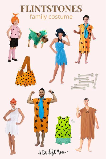 Family Flintstone costumes on Amazon 🎃  #LTKHoliday #LTKfamily #LTKSeasonal