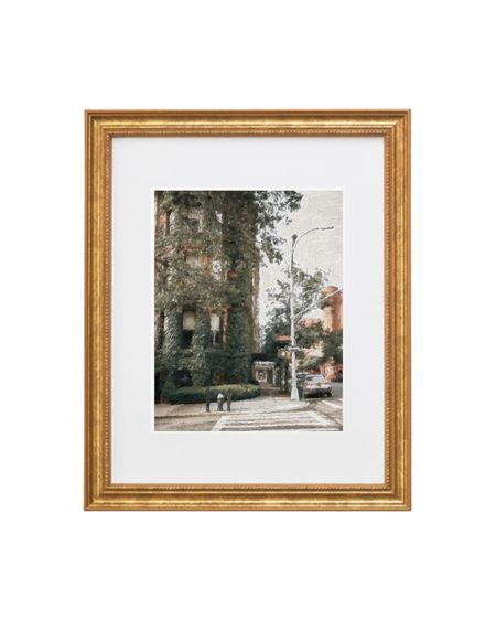 Painting Uptown NYC (home decor) with gold frame    #LTKhome #LTKunder50