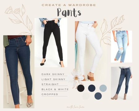 Want to build a new wardrobe? Start with the foundation - pants! Here are my picks for your classic pant collection!    Shop my daily looks by following me on the LIKEtoKNOW.it shopping app    http://liketk.it/36w3Z #liketkit @liketoknow.it #LTKstyletip #LTKunder50