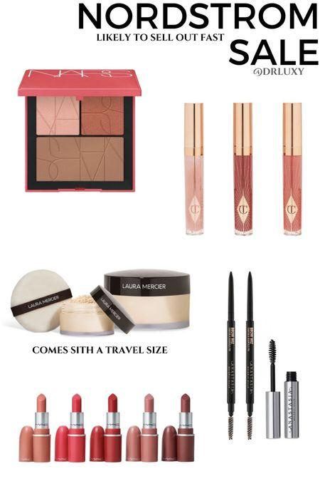 Nordstrom Anniversary Sale  #nsale Beauty  Nara  Charlotte tilbury  Brow pencil  Lipstick   Summer makeup     #LTKtravel #LTKunder50 #LTKbeauty