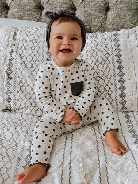 The perfect rainy day lounge wear set for this perfect little babe!   #LTKbaby #LTKstyletip #LTKunder50