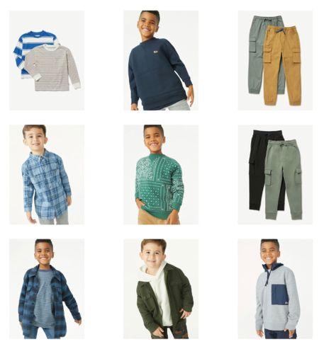 On-trend, affordable clothes for boys! #walmartfashion #boysfashion #fallfashion