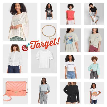Target women's tops and accessories I have and love http://liketk.it/3igxi @liketoknow.it #liketkit #LTKunder50 #LTKitbag #LTKsalealert