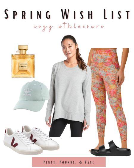 Spring athleisure essentials! From Lululemon align leggings to sneakers and Old Navy's take on trendy sandals!   #LTKfit #LTKstyletip #LTKSeasonal