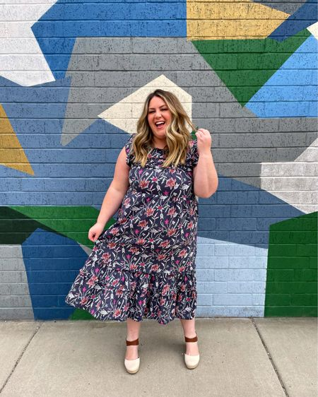 it's all fun and spring games until it snows again this week 😂 until then i am wearing every spring dress in my closet! you can shop this @targetstyle dress via @liketoknow.it http://liketk.it/3dgoC #liketkit #LTKcurves #LTKunder50
