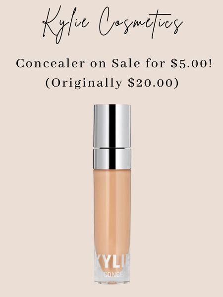 Kylie concealer is on sale for $5.00!!! #makeup #concealer #beauty  #LTKstyletip #LTKbeauty #LTKsalealert