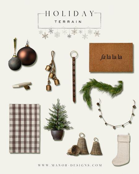 Holiday decor from McGee & Co Christmas tree Garland  Ornaments   #LTKhome #LTKSeasonal #LTKHoliday