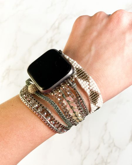 My favorite Apple Watch band from Victoria Emerson! http://liketk.it/3crBX @liketoknow.it @liketoknow.it.family #liketkit #LTKSpringSale #LTKstyletip #LTKworkwear   Watch band Apple Watch Accessories  Wedding guest accessories  Bracelets Jewelry  Spring fashion Summer fashion  Spring outfit  Summer outfit  Beach vacation  Vacation outfit Business casual