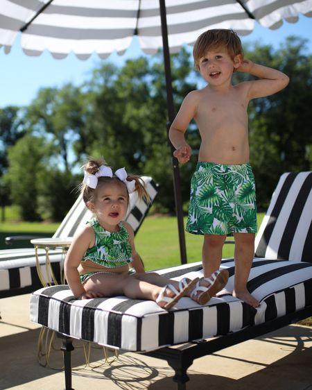 Little boys swim trunks, Little girls swimsuits, matching family swimsuits, little girl bikini, Janie and Jack, beachwear for kids, summer outfit ideas #janieandjacklove #janieandjackpartner @janieandjack http://liketk.it/3h1gT #liketkit @liketoknow.it #LTKswim #LTKkids