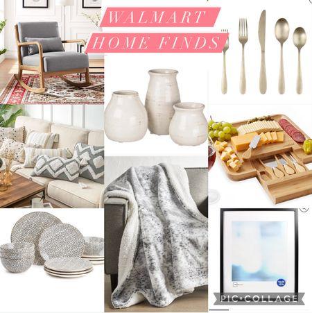 Walmart home finds! @walmart #sponsored #walmart #walmarthome #homedecor #livingroom #kitchen #home   #LTKhome #LTKsalealert #LTKunder50