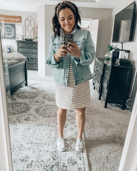 It's really starting to feel like Spring and I think I will be living in this t-shirt dress from Target! I didn't realize how badly I needed the weather to change. It's been such a welcome change! http://liketk.it/2L0qZ #liketkit #LTKspring @liketoknow.it