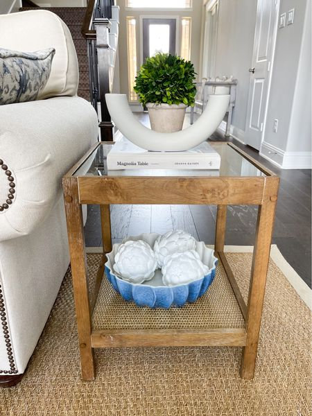 Amazon home // Amazon find // side table and decor   #LTKunder100 #LTKstyletip #LTKhome