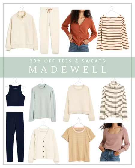 20% off Madewell tees and sweats with the code RELAX   #LTKunder100 #LTKsalealert