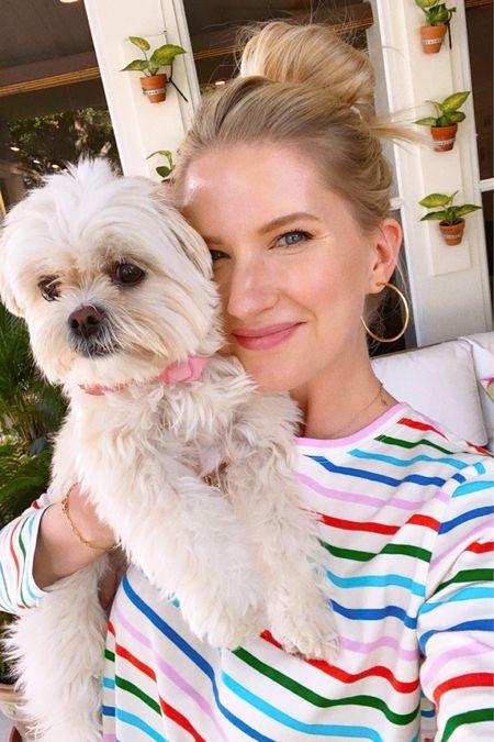 The cutest striped shirt! 🌈 http://liketk.it/3fCXl #liketkit @liketoknow.it