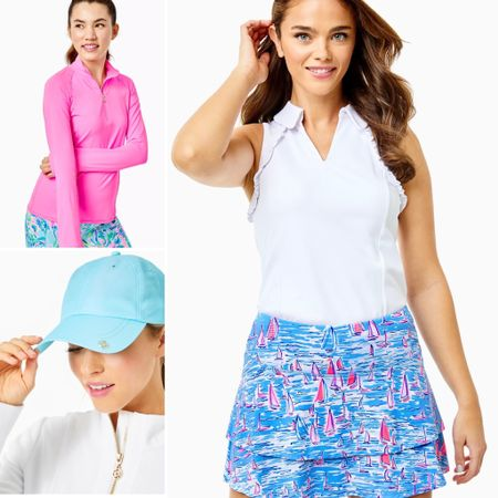 These are some of my golf favorites from Lilly Pulitzer! #LTKtravel #LTKfit http://liketk.it/3fUF7 #liketkit @liketoknow.it You can instantly shop my looks by following me on the LIKEtoKNOW.it shopping app