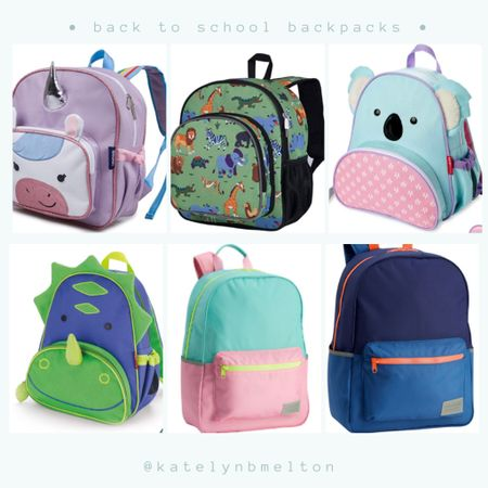 Back to schooo backpacks for toddlers http://liketk.it/3kiWl @liketoknow.it #liketkit @liketoknow.it.family #LTKitbag #LTKfamily #LTKkids