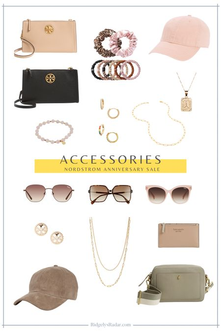 Favorite accessories from the Nordstrom Anniversary Sale (public access to the sale July 28-August 9!)  #nsale #nordstromsale #nordstrom #accessories  #LTKsalealert #LTKstyletip #LTKunder100