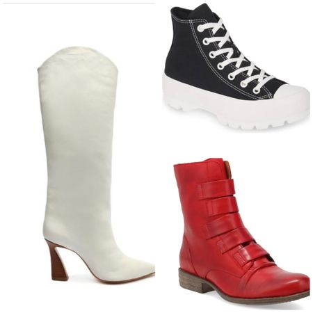 Three shoe trends I am loving for Fall. #trends   #LTKSeasonal #LTKHoliday