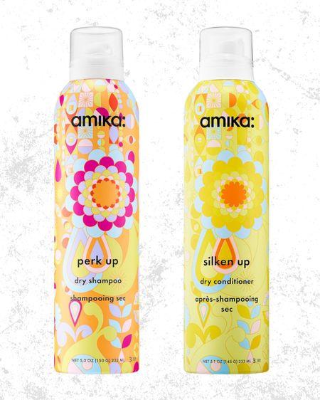 Favorite dry shampoo & conditioner  Amika hair products   #LTKunder50 #LTKbeauty