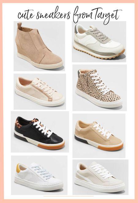 Lots of cuter sneakers at target right now!   #LTKstyletip #LTKshoecrush #LTKunder50