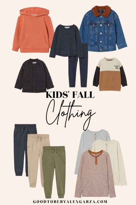 Kids fall clothing   #LTKSeasonal #LTKbaby #LTKunder100