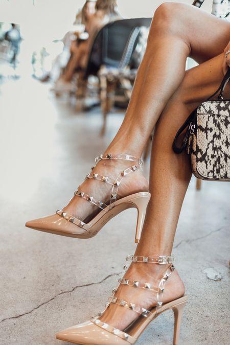 Cutest under $50 heels! Would be perfect for workwear or as a wedding guest   #LTKunder50 #LTKworkwear #LTKwedding