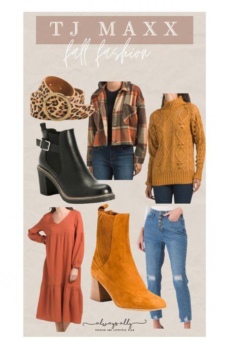 TJ MAXX fall fashion!