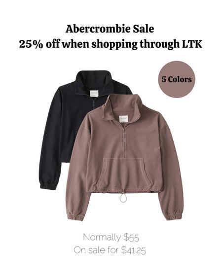Fall fashion, fall outfits, jacket, zipup, Abercrombie.   #LTKGiftGuide #LTKSale #LTKSeasonal