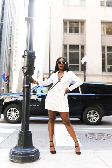 The White Tuxedo Dress http://liketk.it/3fxSY #liketkit @liketoknow.it