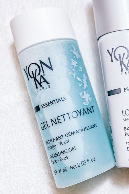 One of my favorites: Yon Ka 𝗚𝗘𝗟 𝗡𝗘𝗧𝗧𝗢𝗬𝗔𝗡𝗧 𝗖𝗹𝗲𝗮𝗻𝘀𝗶𝗻𝗴 𝗚𝗲𝗹- Composed of 96% ingredients of natural origin, this mildly foaming cleanser with plant-based cleansing agents refreshes skin. It sweeps away all traces of makeup, pollution and impurities on the skin. #skincare  #LTKbeauty