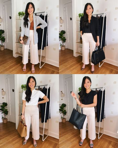 These wide leg pants are perfect for a business casual outfit. They have an elastic waistband, making them equal parts polished and comfy. Only $41 and comes in a few different colors. S was a little tight in the crotch, but M fits perfectly!   Amazon fashion, Amazon finds, business casual, work outfit, teacher outfit, work from home style, work pants, fall style, work blazer.  Follow my shop on the @shop.LTK app to shop this post and get my exclusive app-only content!  #liketkit #LTKstyletip #LTKworkwear #LTKunder50 @shop.ltk http://liketk.it/3lUVI  #LTKstyletip #LTKworkwear #LTKunder50