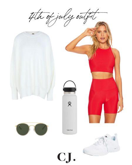 4th of July casual fit  #LTKunder100 #LTKfit #LTKSeasonal